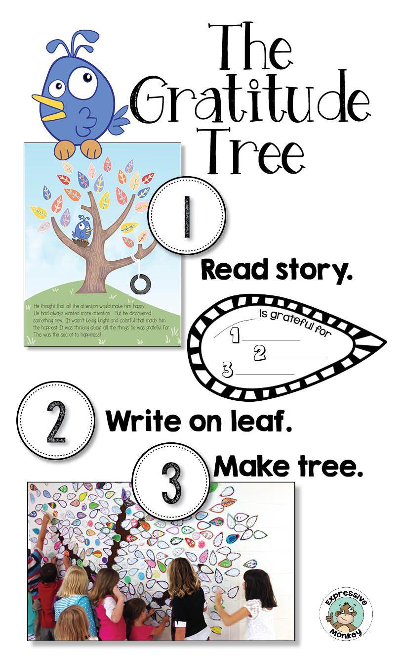 Gratitude Tree Art Project