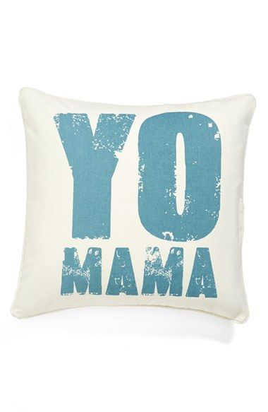 Levtex 'Yo Mama' Pillow available at #Nordstrom