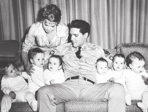With The Babies Appearing In G I Blues Spring 1960 Elvis