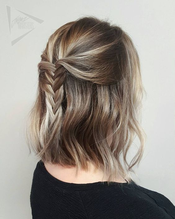 49 Super-Trendy Beautiful Hairstyles for School Isabellestyle Blog #shorthairstyles