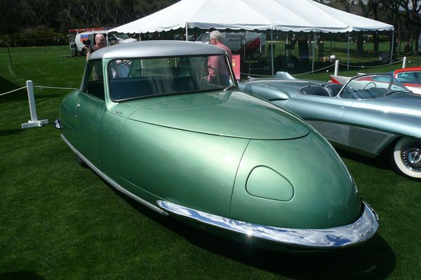 Davis A Three Wheel Car From The Late 1940s Only 17 Produced