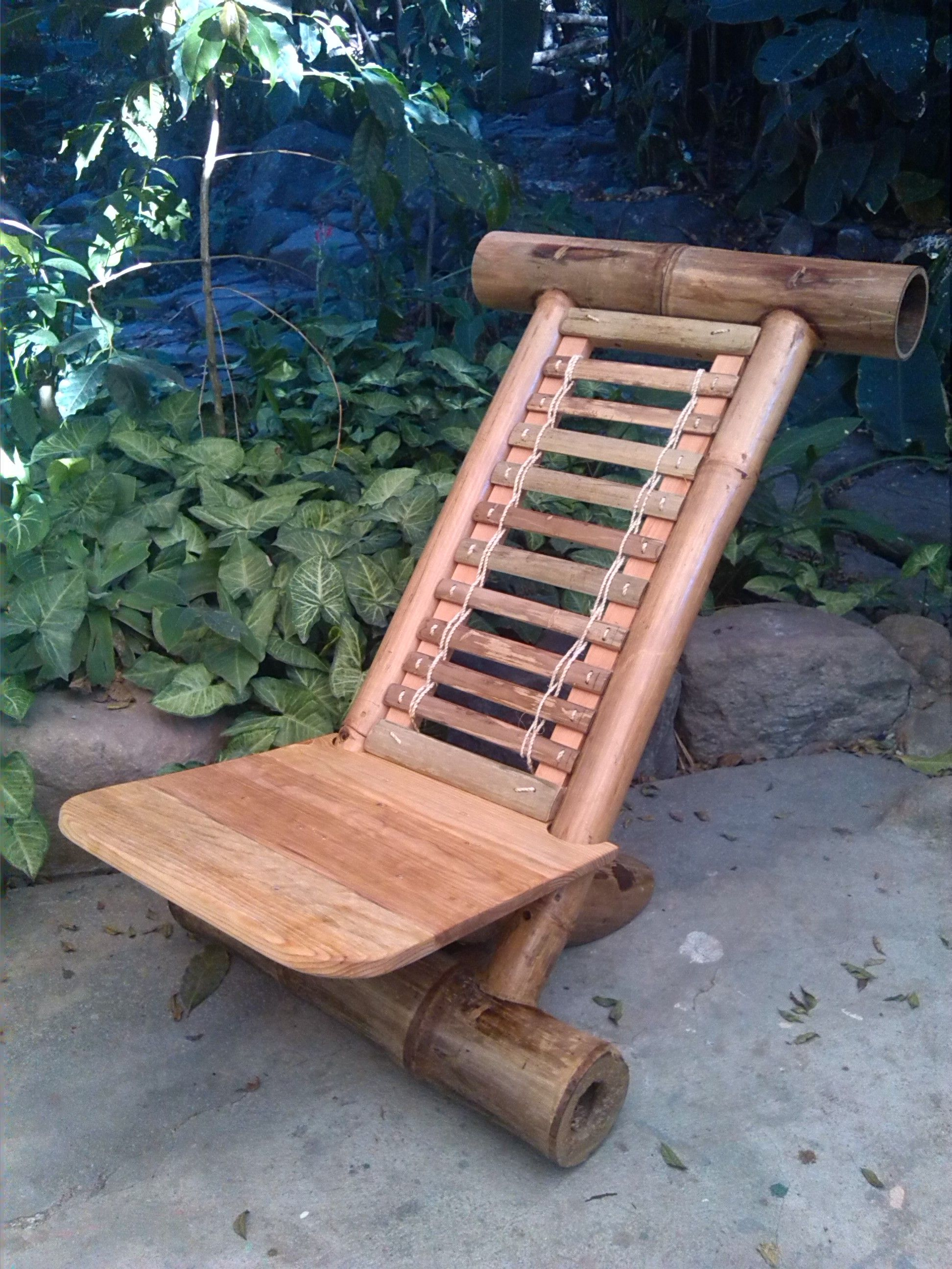Adirondack Chair Made From Bamboo Https Www Etsy Com Shop