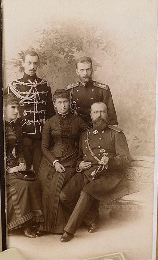 Grand Duchess Elizabeth Feodorovna, Grand Duke Paul Alexandrovich, Grand Duke…