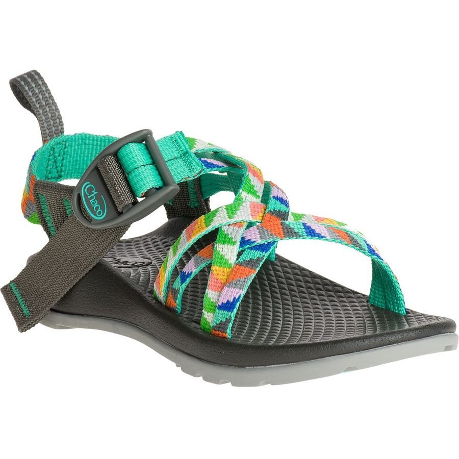 d1b0ec792fa Chaco - ZX 1 EcoTread Sandal - Girls  - Camper Turquoise