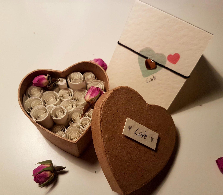 Valentines Gift Set, Romantic Gift For Her, Friendship Bracelet ...