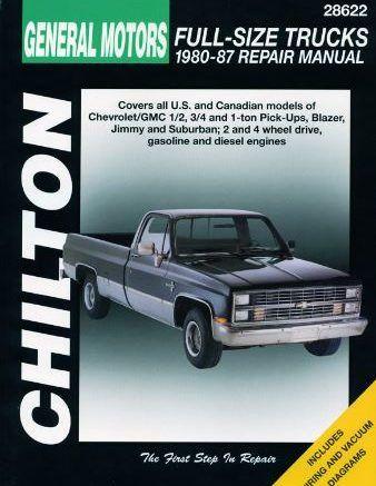 1980 1987 Chevrolet Pick Ups Chilton Repair Manual Pdf Free Download Scr1 Repair Manuals Chilton Repair Manual Totaled Car
