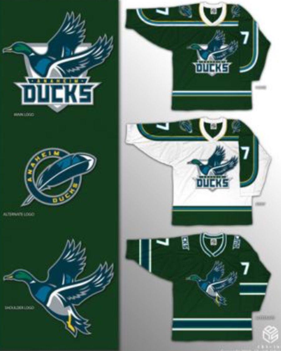 Anaheim Ducks sweater concept  cd0629a009d