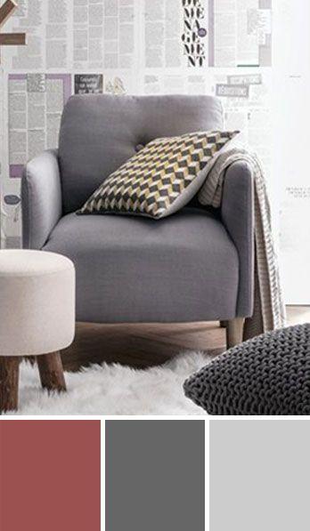 couleur-marsala Palette couleur Pinterest Salons, Room ideas