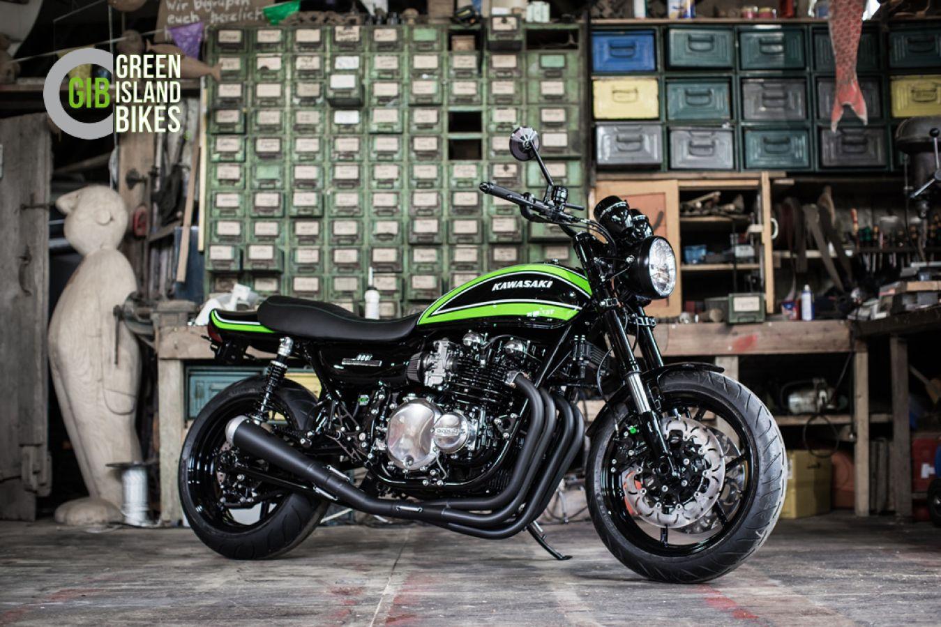 Kawasaki Z 1000 Umbau