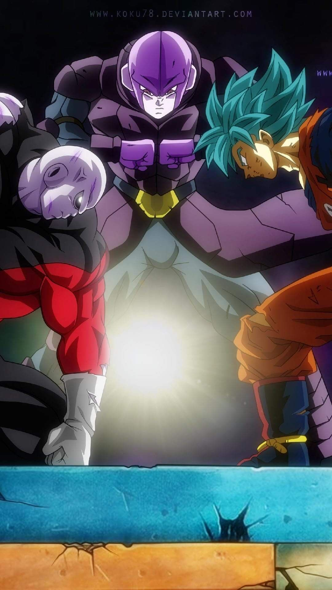 Jiren Hit And Goku Dragones Fondos De Pantalla Goku Y Dragon Ball