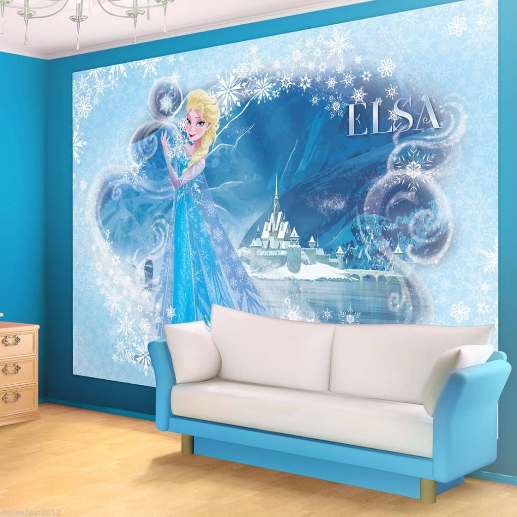 kinder fototapete fototapeten tapete tapeten poster disney eisk nigin elsa 835p8. Black Bedroom Furniture Sets. Home Design Ideas
