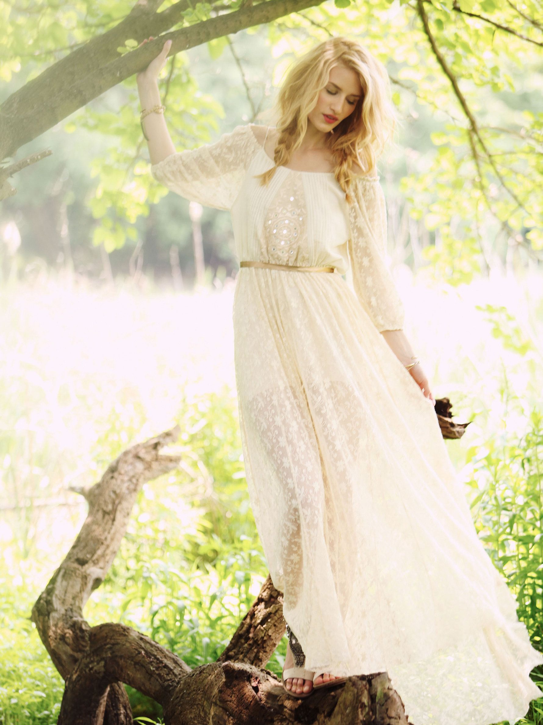 Another free people anaus limited edition white summer dress at free