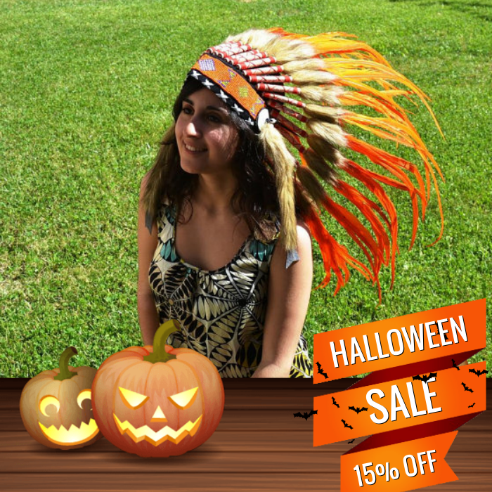 15% OFF on select products. Hurry, sale ending soon!  Check out our discounted products now: https://www.etsy.com/shop/THEWORLDOFFEATHERS?utm_source=Pinterest&utm_medium=Orangetwig_Marketing&utm_campaign=Halloween%20Sale2   #etsy #etsyseller #etsyshop #etsylove #etsyfinds #etsygifts #headdress #indianheaddress #warbonnet #picoftheday #instacool #onlineshopping #instashop #loveit #photooftheday #shop #shopping #love #OTstores #smallbiz #instagood #instafollow #musthave #sale #instasale