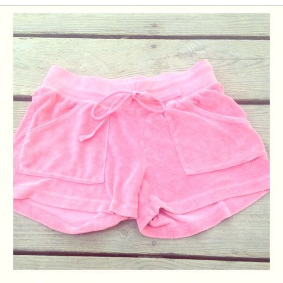2 HOUR SALE pink shorts Summer shorts Old navy terry cloth shorts size XS pink EUC cotton polyester Old Navy Shorts