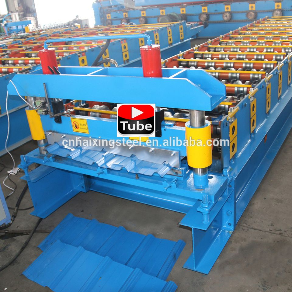 IBR metal roof tile panel roll forming machine/ibr roof sheet ...