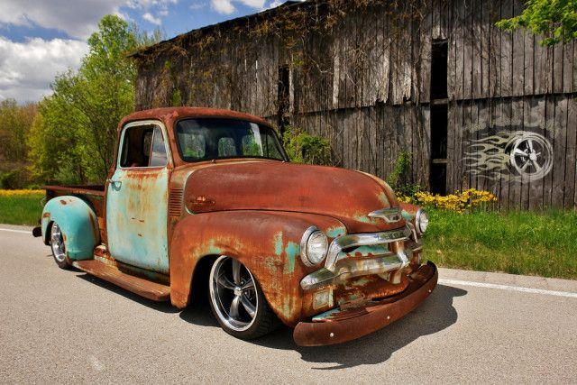 Video: Patina'd '55 Chevy Pick-Up Goes Up For Auction - Rod ...