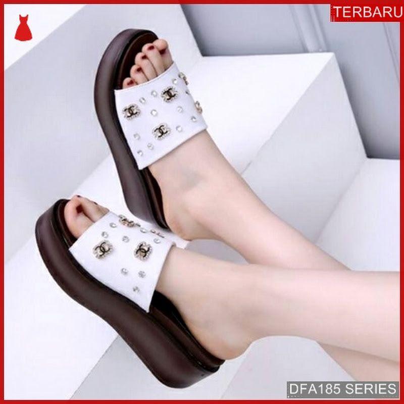 Dfa185d26 Dr50 Sandal Wedges Bari Ah Wanita 350 Dewasa Bmgshop