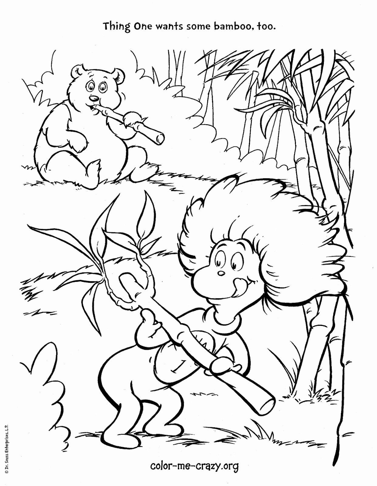 Cat In The Hat Coloring Page New Colormecrazy The Cat And