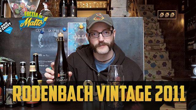 Rodenbach Vintage 2011: Che Scialo! http://www.facciadamalto.it/video/rodenbach-vintage-2011/ #Birra #Birraartigianale