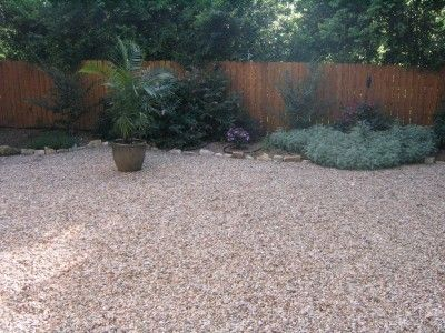 Non Plant Alternatives To Lawn Grass | Gravel landscaping ... on Non Grass Backyard Ideas  id=66390