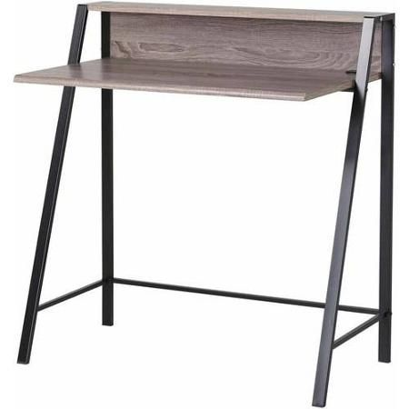 Mainstays 2 Tier Writing Desk Multiple Finishes Walmart Com Writing Desk Mainstays Desk