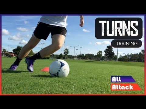 How to Improve Your Turns | Football Training - YouTube