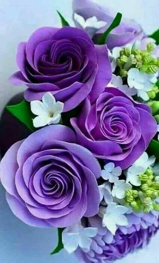 Precious purple flowers