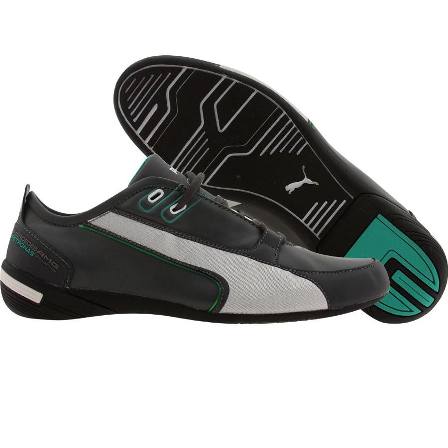 Puma Racing Grand Cat MAMGP shoes in dark shadow and puma