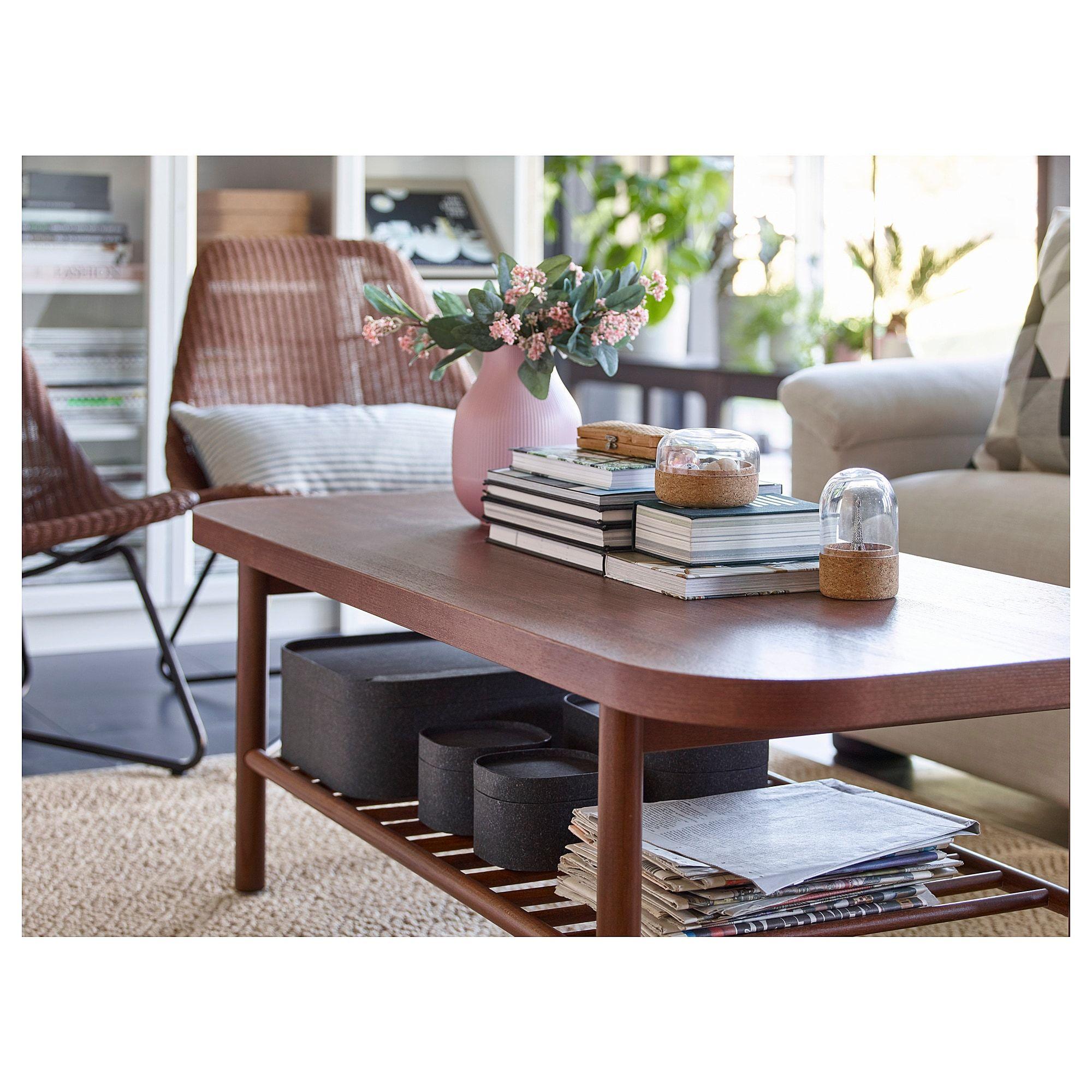 Listerby Coffee Table Brown 55 1 8x23 5 8 Ikea Mesas De Cafe Interior De La Casa Mesa De Diseno [ 2000 x 2000 Pixel ]