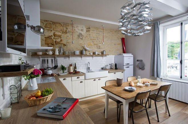 L\u0027esprit pêche d\u0027une cuisine normande Fatou Pinterest - Chambre D Hotes Normandie Bord De Mer