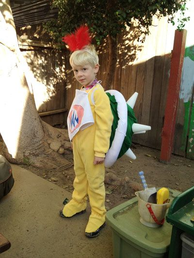 make a bowser jr mario brothers halloween costume - Happy Halloween Costume