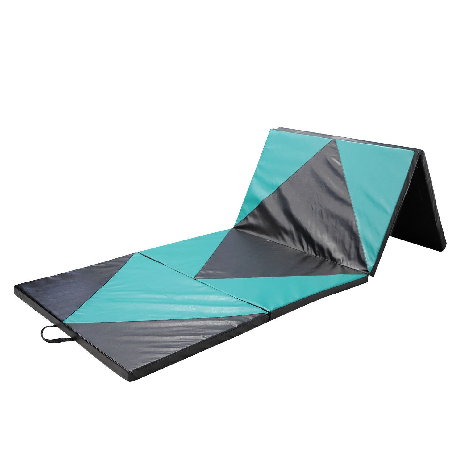 ebay fitness en panel gym gymnastics thick exercise folding us mats buy mat