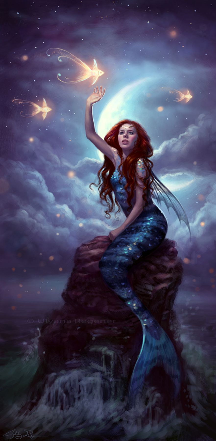 Fantasy Meerjungfrau