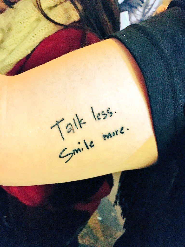 Hamilton Some Fan Got These Lyrics From The Show As A Tat