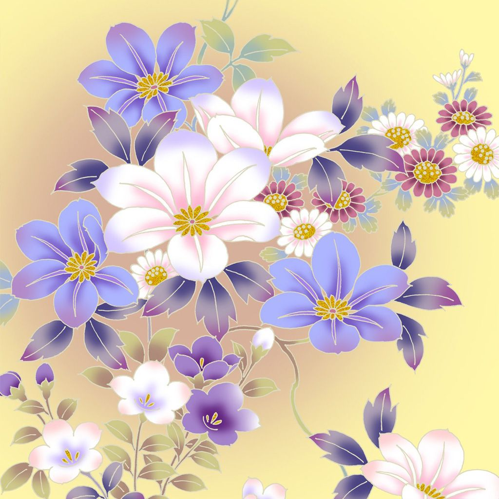 Vintage Flower Wallpaper Iphone Wallpaper