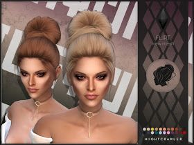 Photo of Sims 4 CC's – The Best: Hair by Nightcrawler