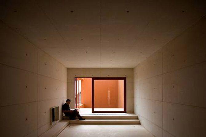 Corridor Modern Architecture Home Photo