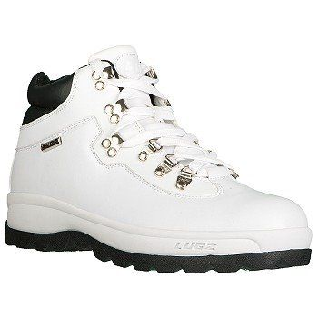 Lugz Broadway SR Boots (White/Black) - Men's Boots - 10.0 D