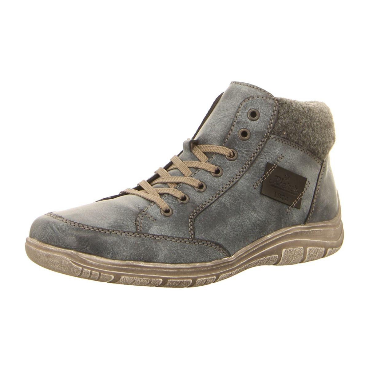 NEU: Rieker Stiefeletten F6513 15 grau | Schuhe damen