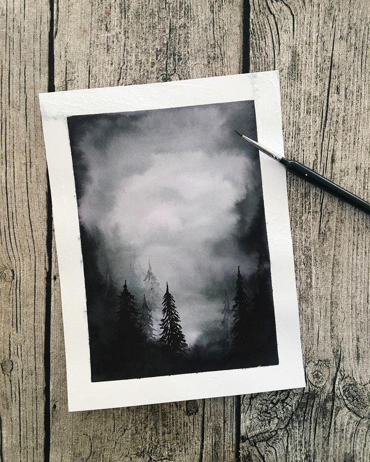 Gefällt 1,945 Mal, 42 Kommentare - Silje (Silvia ... - #forests #Gefällt #Kommentare #Mal #Silje #Silvia #wasserfarbenkunst