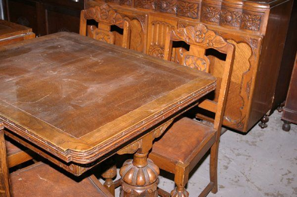 Pin by Sharon Boyse on 1930s oak furniture | Pinterest | Oak dining room,  Leaf table and 1930s - Pin By Sharon Boyse On 1930s Oak Furniture Pinterest Oak Dining