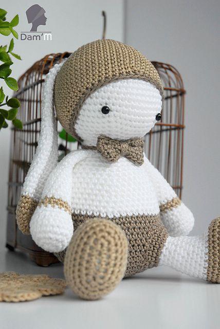 Lulu Papillon pattern by Dam\'M (Alexia Giraud) | Gratis haakpatronen ...