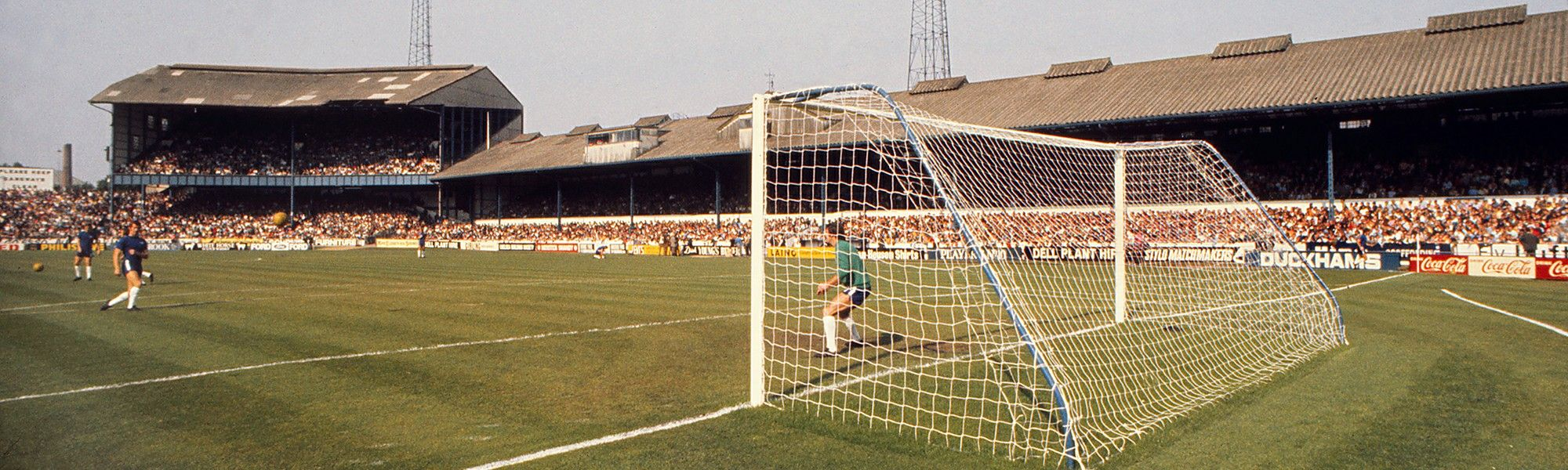 Image result for stamford bridge in the seventies