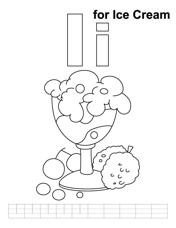 Ice-Cream-coloring-pages-9 Happy Creative Ice Cream Flavors Day - copy abc coloring pages for baby shower