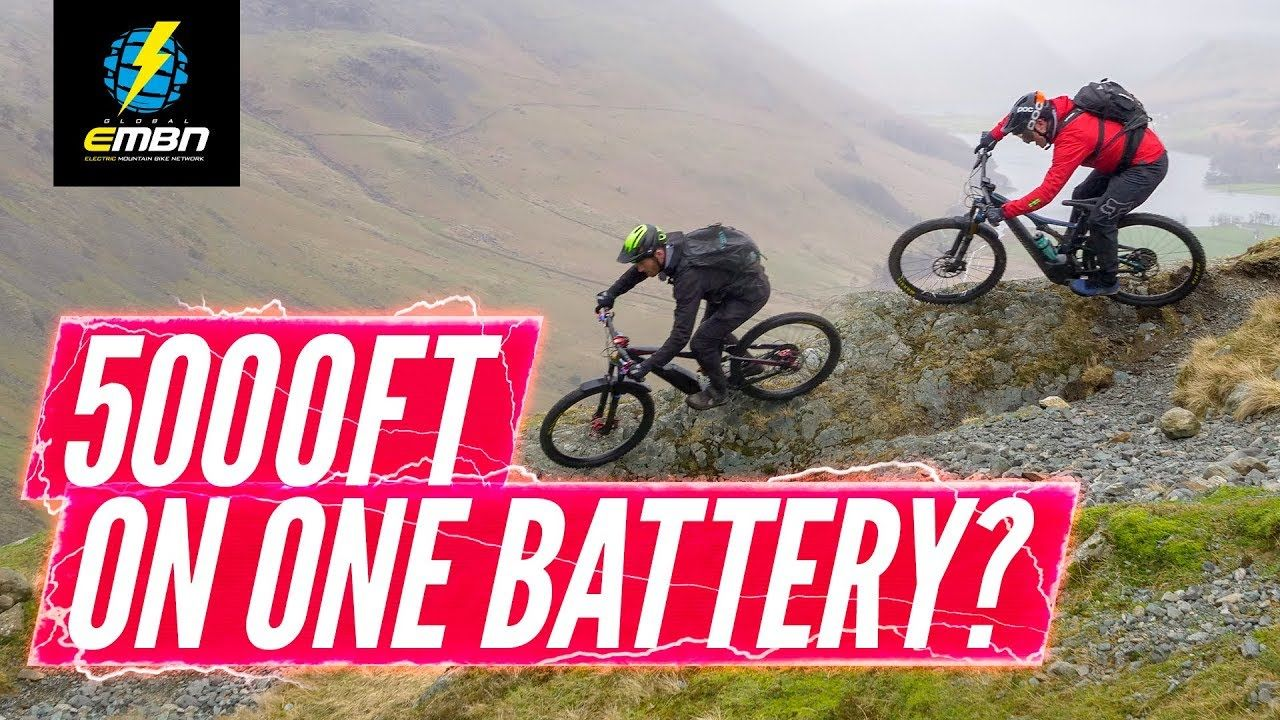 5000ft On One Battery Lake District Epic Ride Challenge With