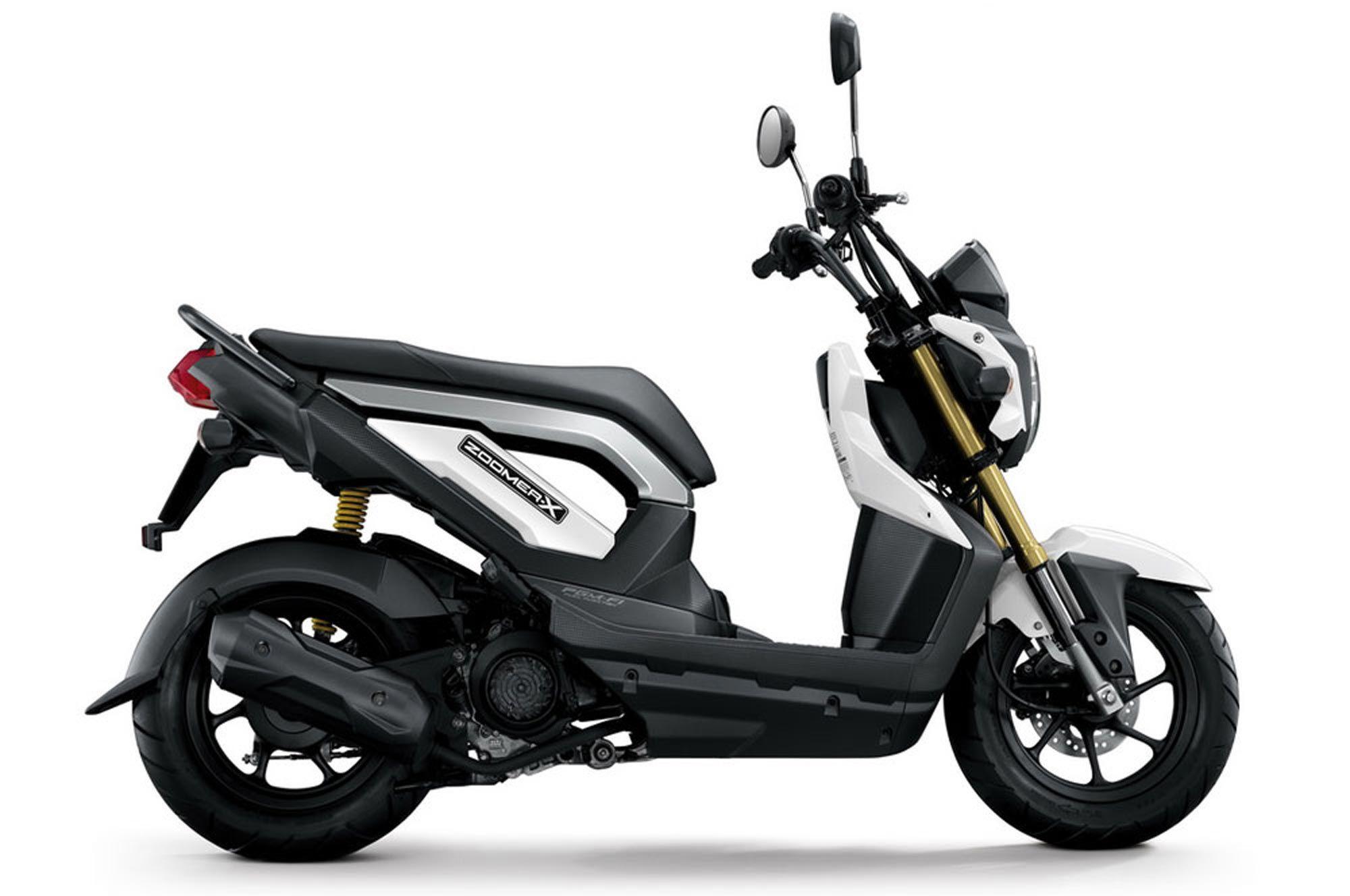 2013 Honda Zoomer X White Gallery