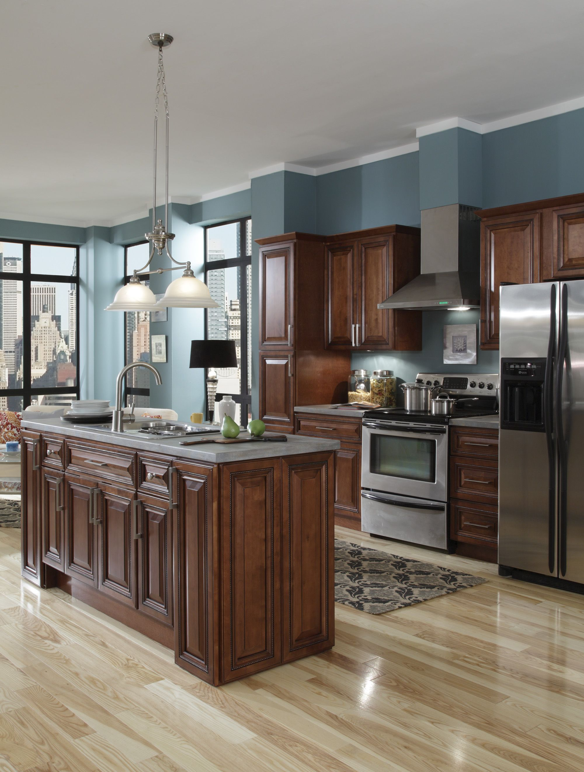 B Jorgsen Co Buckingham Sienna Rope Kitchen Features Soft Closing Drawers Solid Wood Frames And Are Crafted With Dovetail J Cabinets To Go Home Decor Home