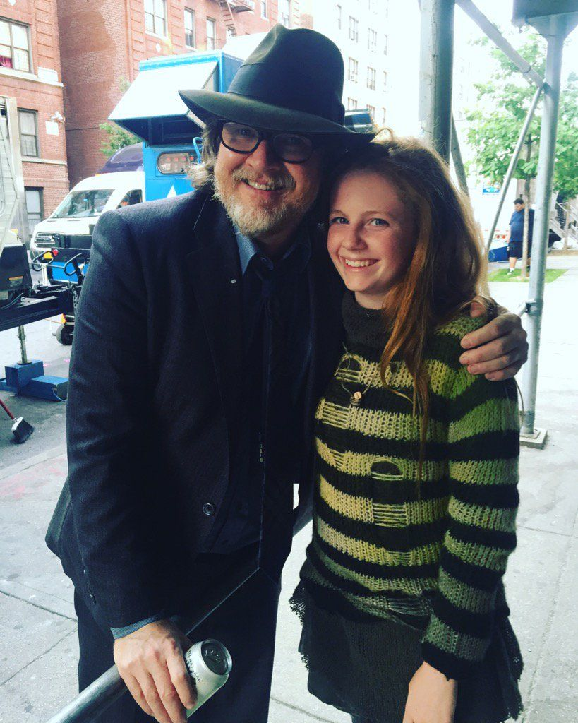 "Clare Foley on Twitter: ""Always love bumping into this guy on set🍀@donallogue @Gotham #season3 https://t.co/4kkdTu4J3c"""