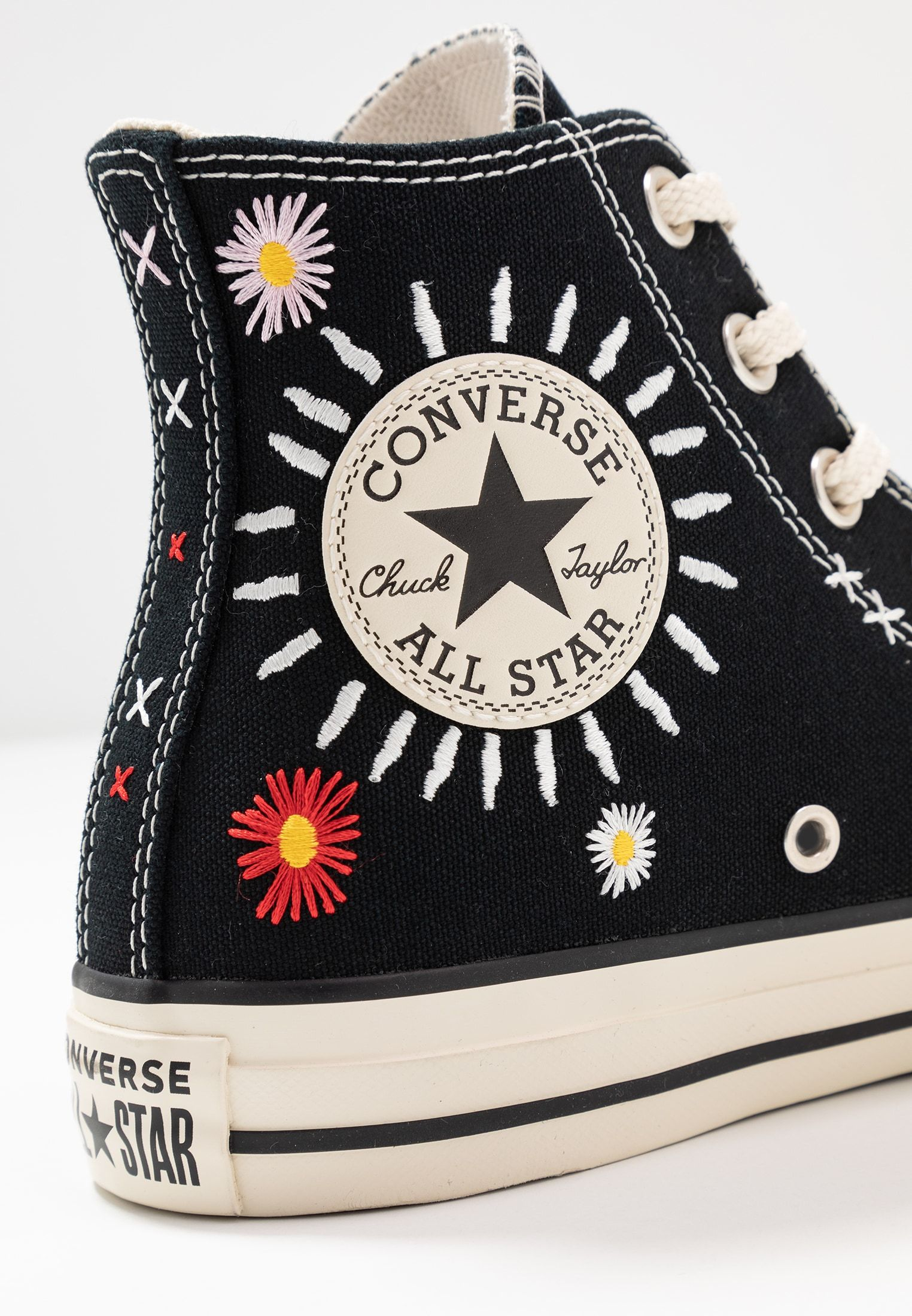CHUCK TAYLOR ALL STAR - Sneakers hoog - black/natural ivory ...