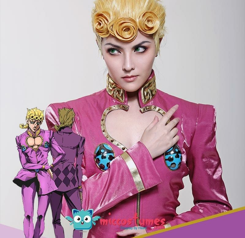 Giorno Giovanna Costume Jojos Bizarre Adventure Cosplay Full Set For Sale Jojo S Bizarre Adventure Jojo Bizarre Best Cosplay